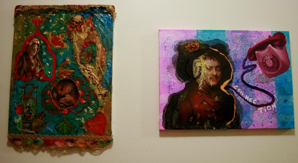 2 artists,1 art class