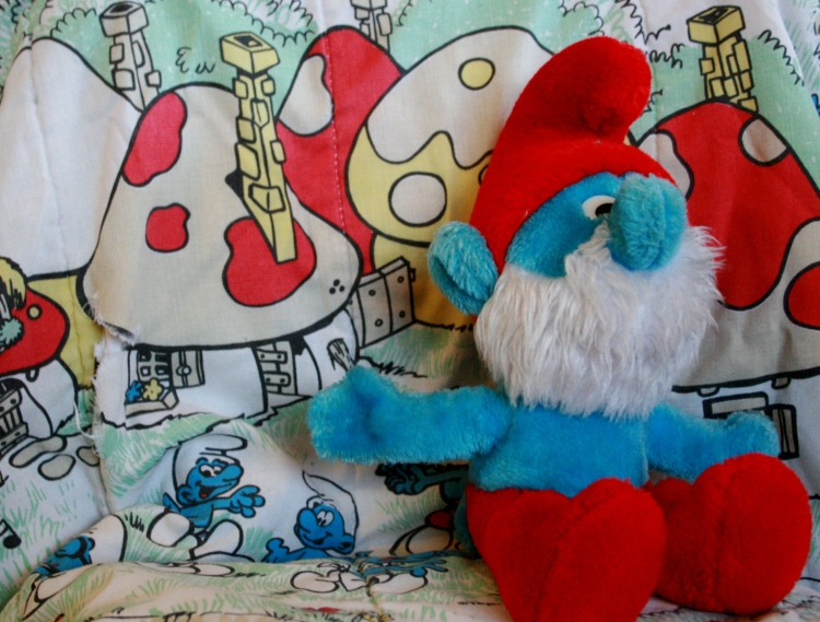 Pappa Smurf is ready for his Potrait