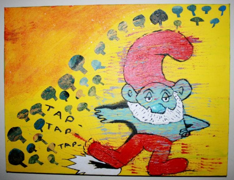 Pappa Smurf's Potrait