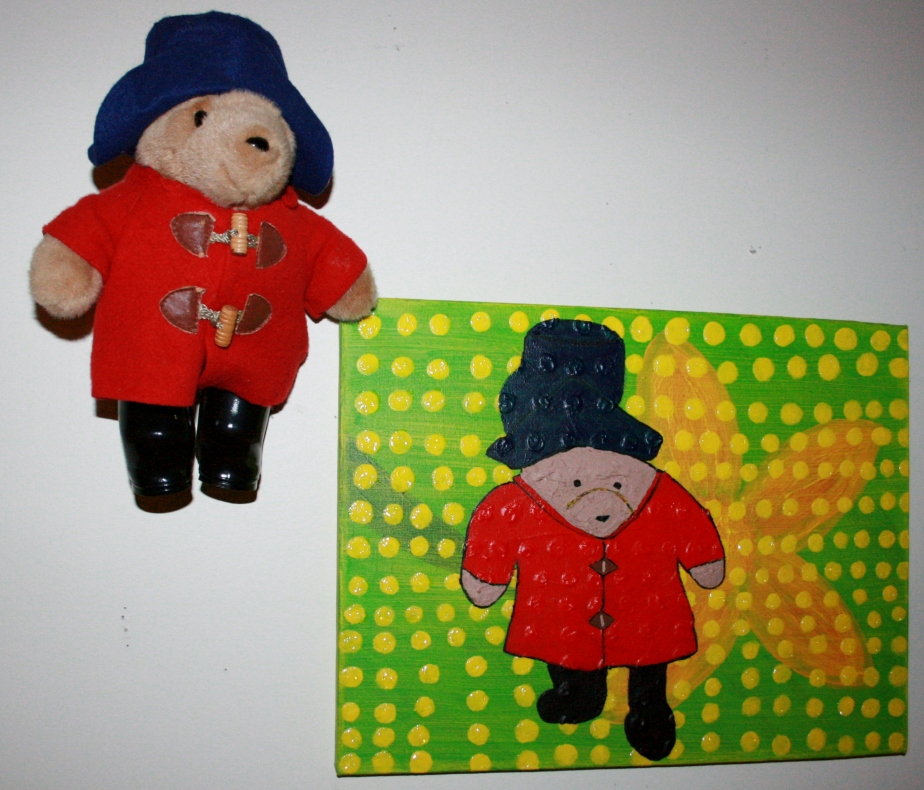 Potrait of Paddington the Bear