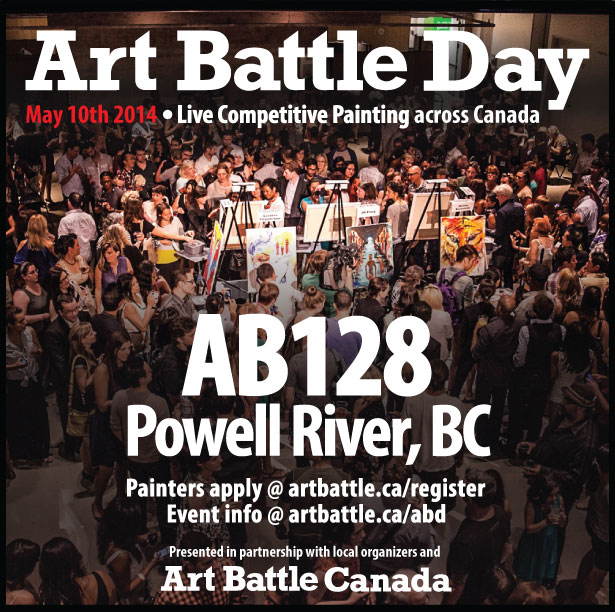 Art Battle Day this Saturday May the 10th@Studio 56
