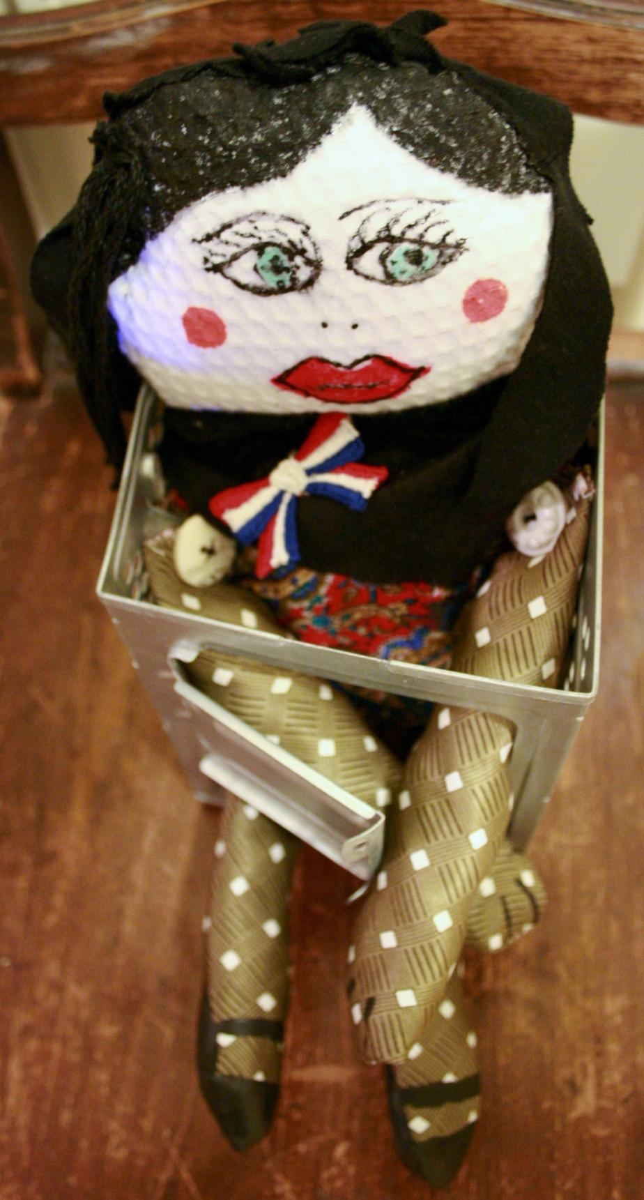 My first art doll