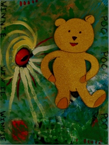 Winnie the Pooh`s Portrait