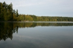 Hague Lake -still as glass