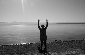 Power Pose By Laura Balducci @ Smelt Bay Cortes Island B.C. Canada